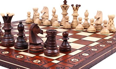 The Jarilo – Unique Wood Chess Set, Pieces, Chess Board & Storage