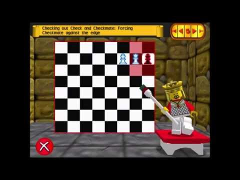 LEGO Chess – Tutorial 3: The King, Check(mate) [Book 1 part 3]