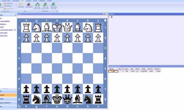 Chess Training with Rybka – Introduction 001