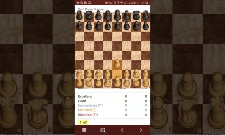 Another chess tutorial