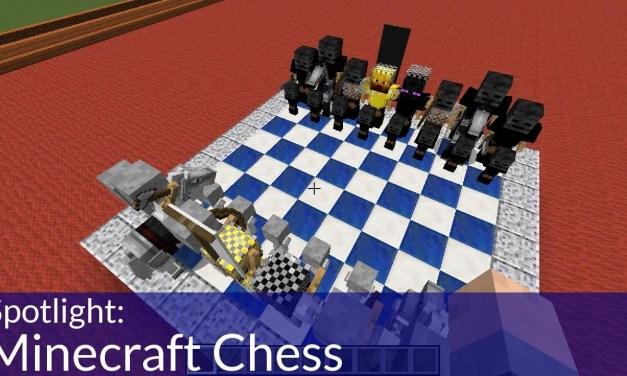 Spotlight: Minecraft Chess