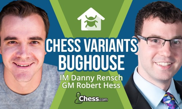 Bughouse Chess with IM Danny Rensch and GM Robert Hess