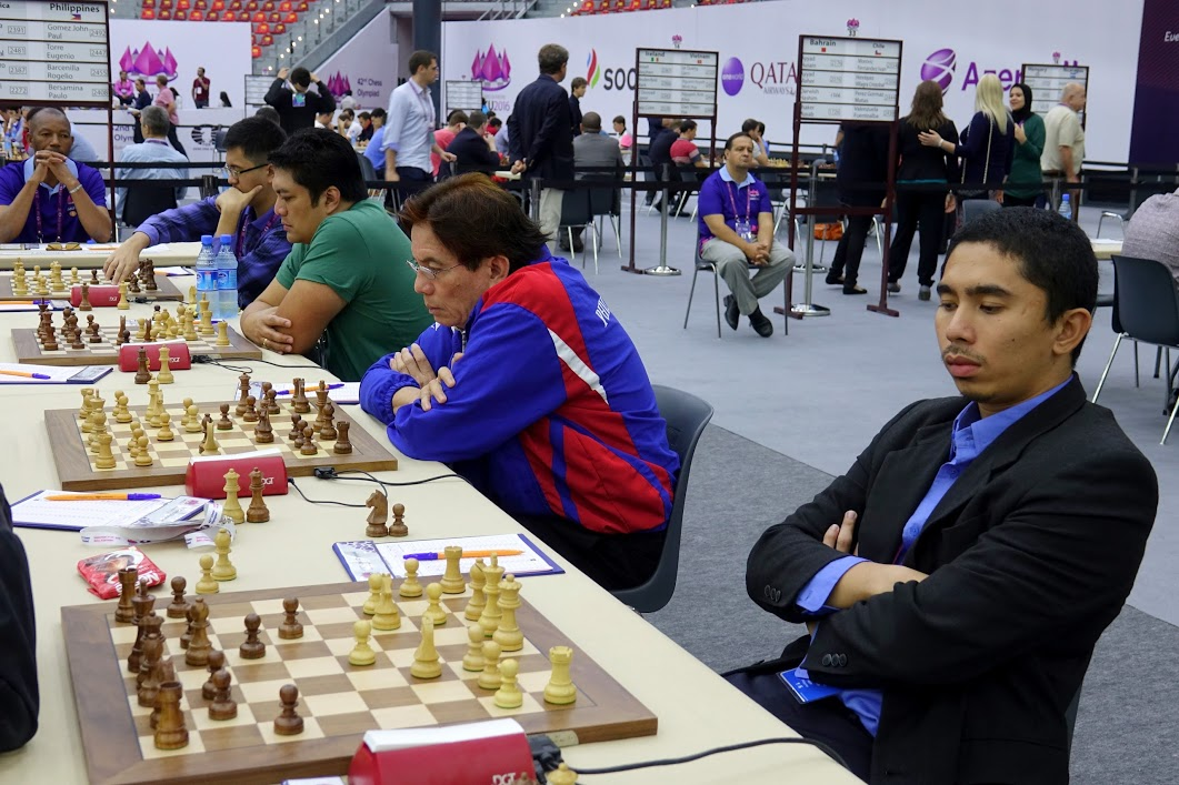 Philippines Wins Against Costa Rica in Round 4 Baku 2016 Chess Olympiad (Open)