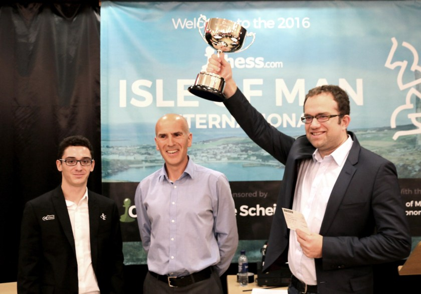 Eljanov wins the Isle of Man 2016. Photo courtesy of Chess.com.
