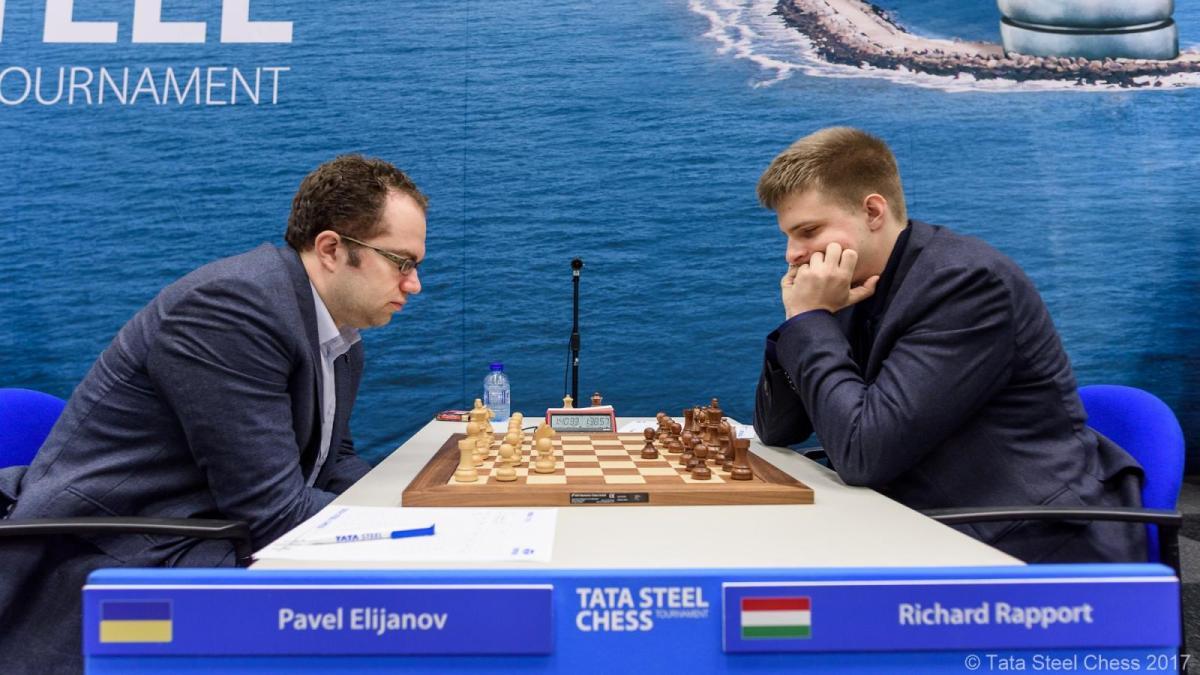Pavel Eljanov Leads Tata Steel Masters 2017 After Round 2