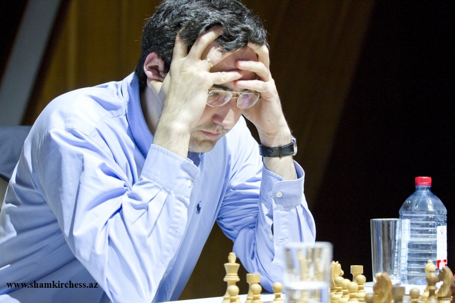 Kramnik wins in Round 4 Shamkir Chess 2017