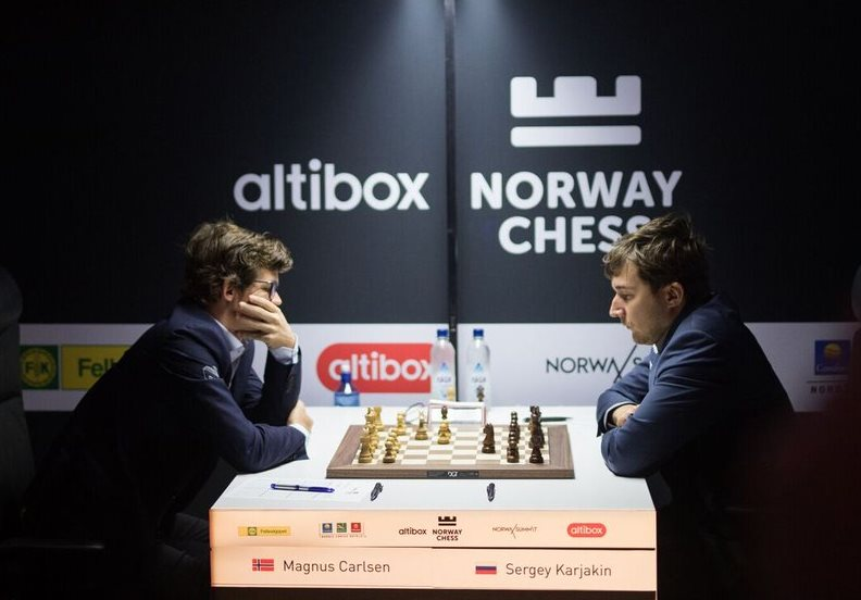 Carlsen, MVL win in penultimate round of Norway Chess 2017
