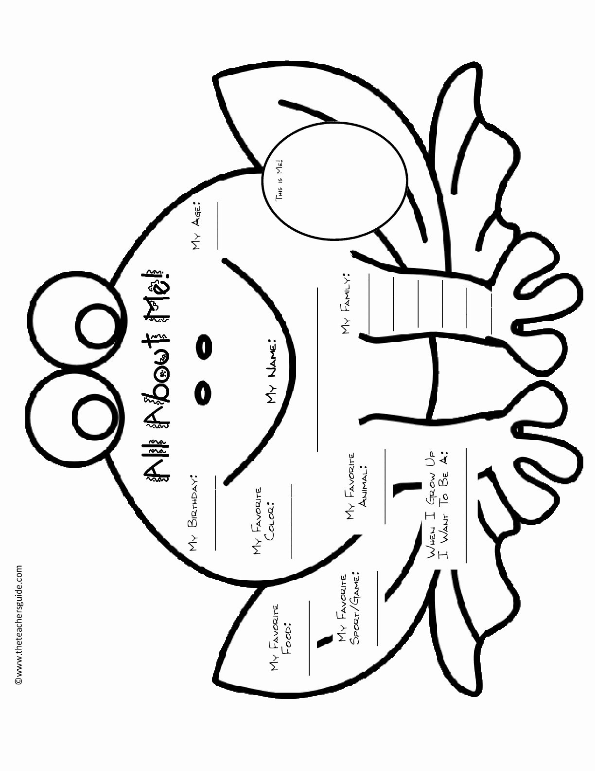 All About Me Worksheet Awesome All About Me