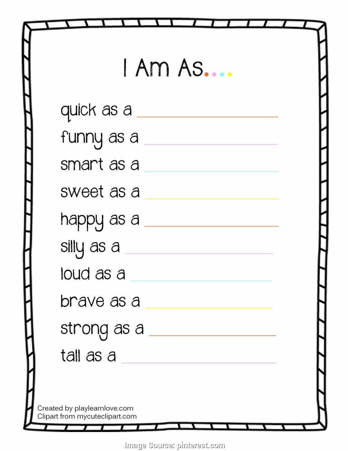 49 All About Me Worksheet Preschool