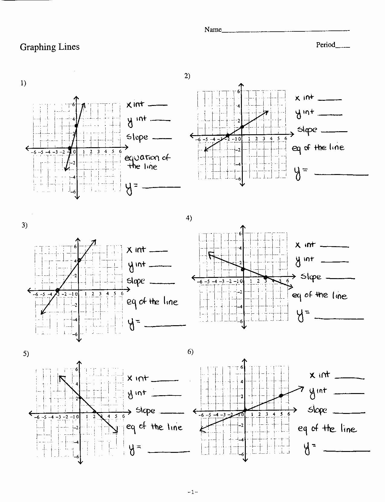 50 Characteristics Of Quadratic Functions Worksheet