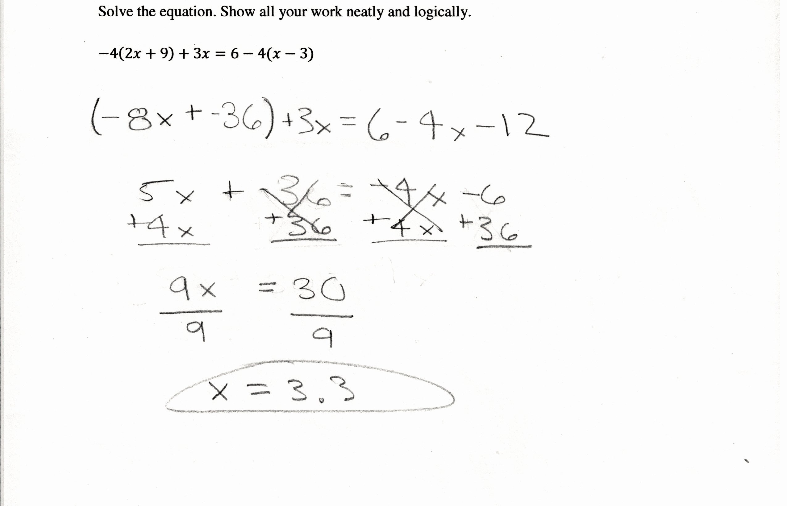 50 Combining Like Terms Equations Worksheet