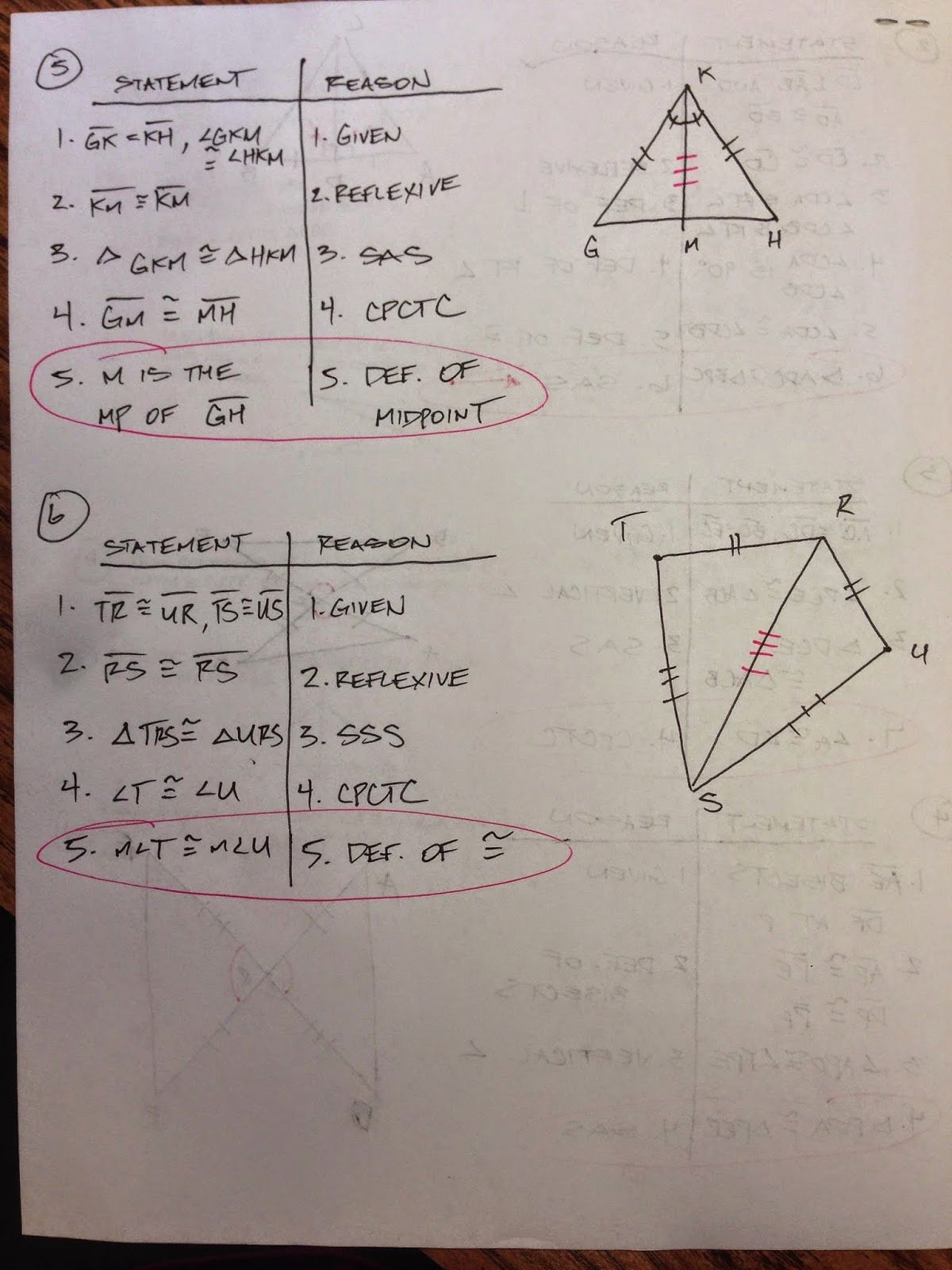 50 Congruent Triangles Worksheet Answers