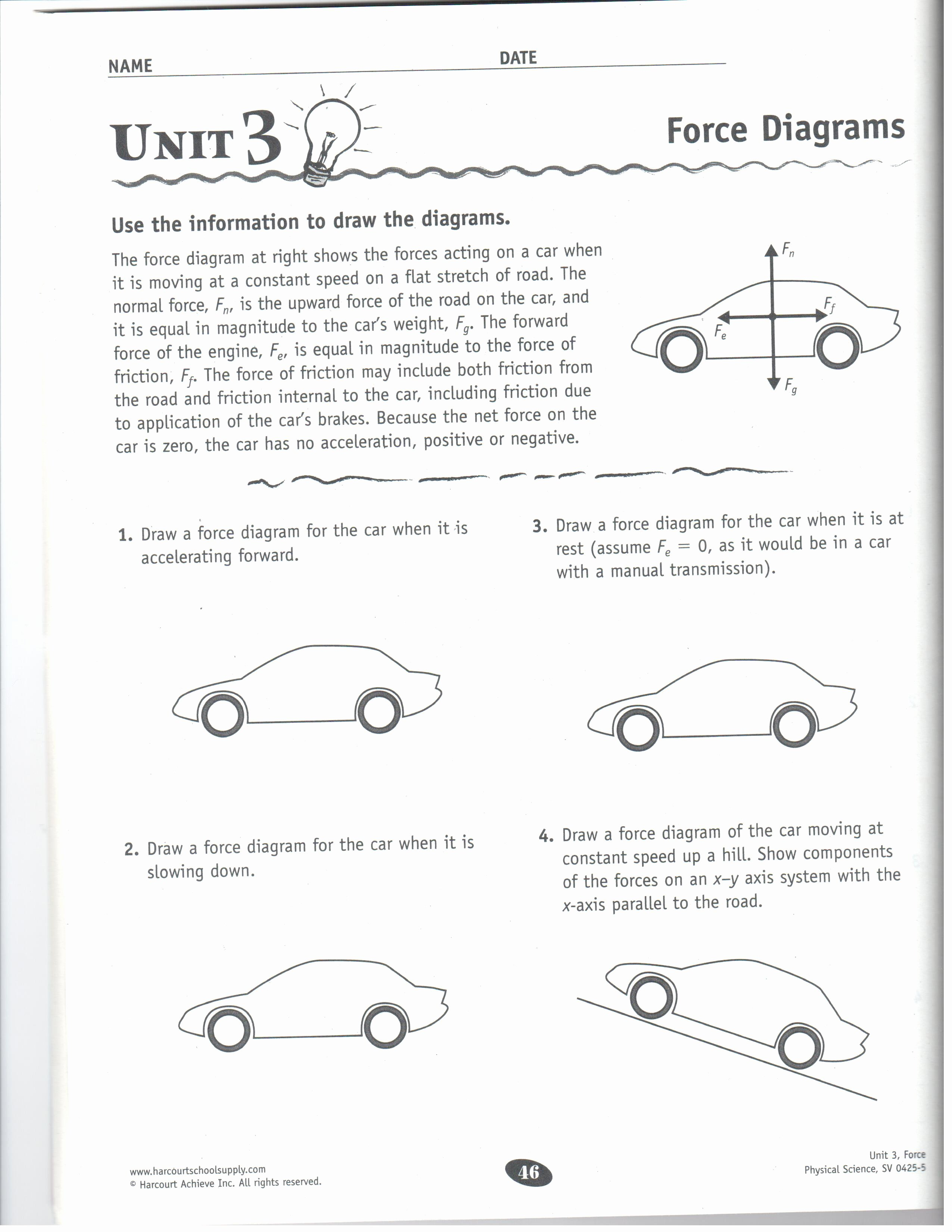 50 Friction And Gravity Worksheet
