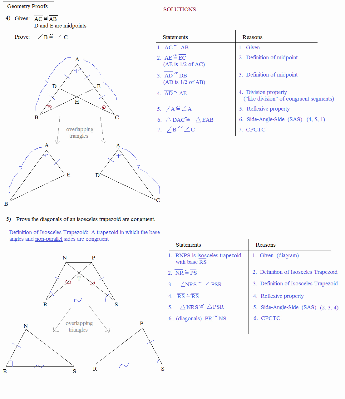 50 Geometry Worksheet Congruent Triangles Answers