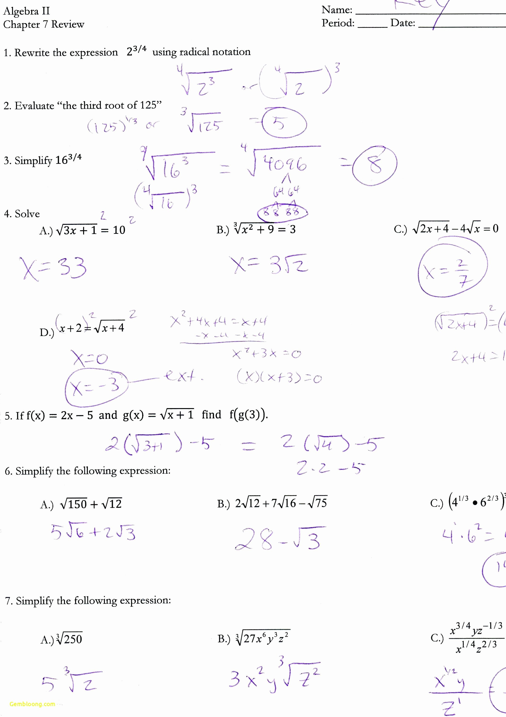 50 Graphing Quadratics Review Worksheet