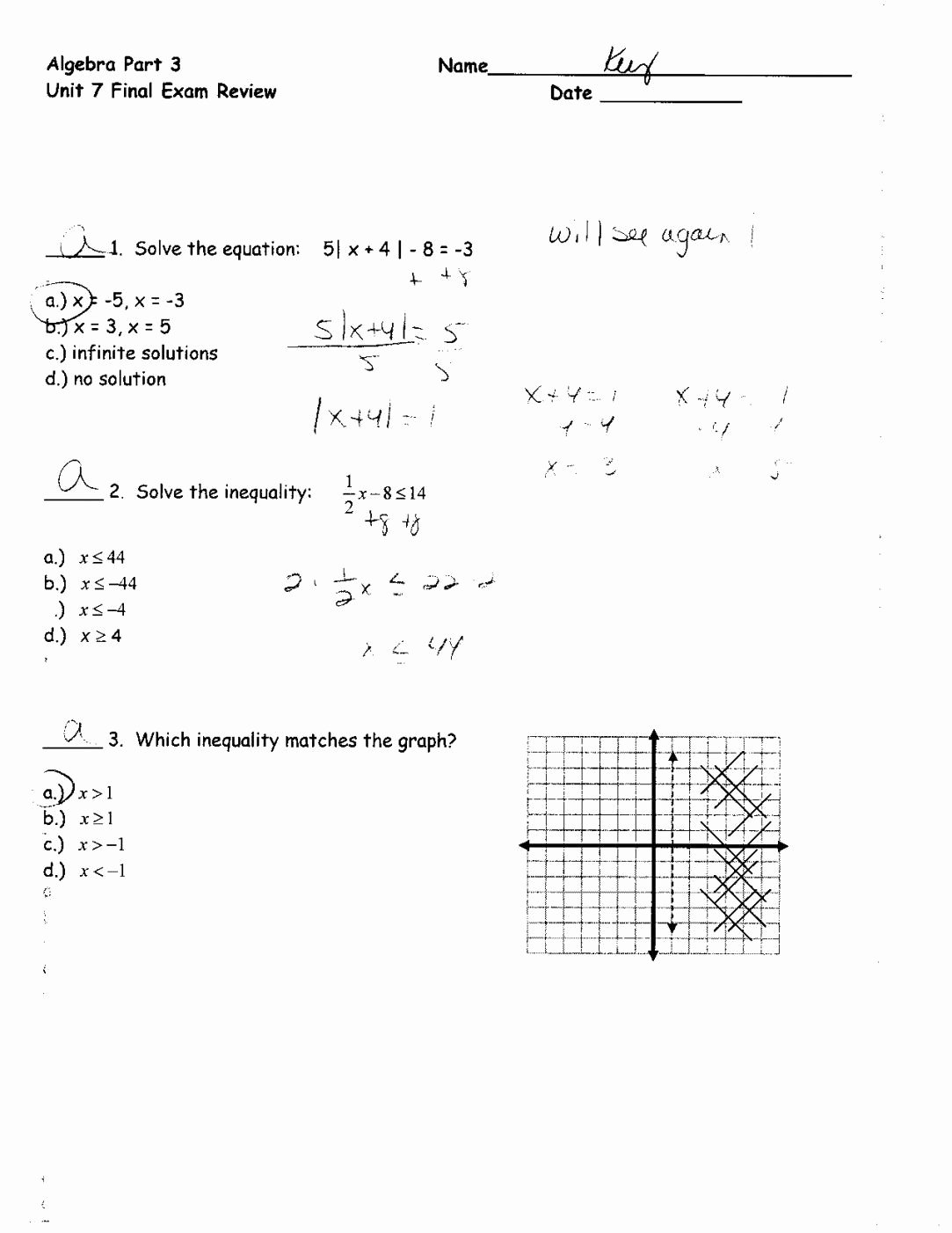 50 Graphing Systems Of Equations Worksheet