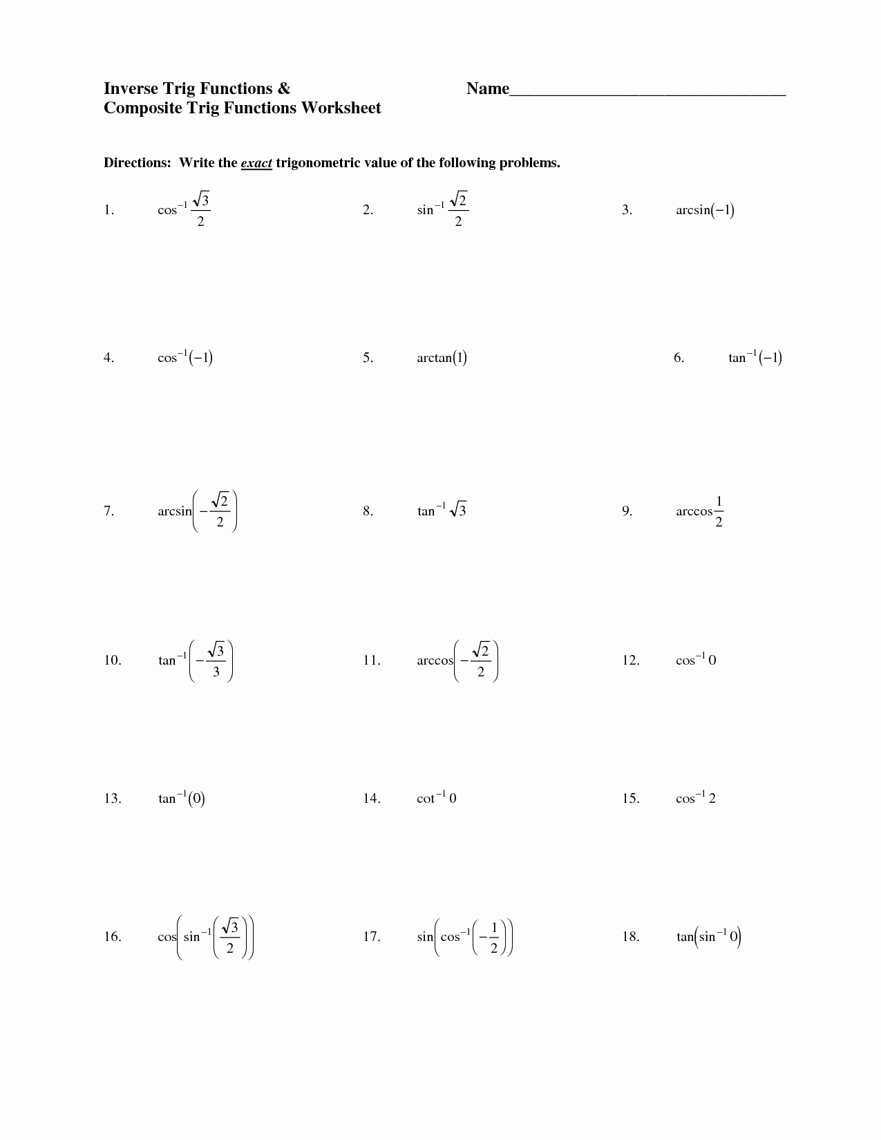 50 Simplify Square Roots Worksheet