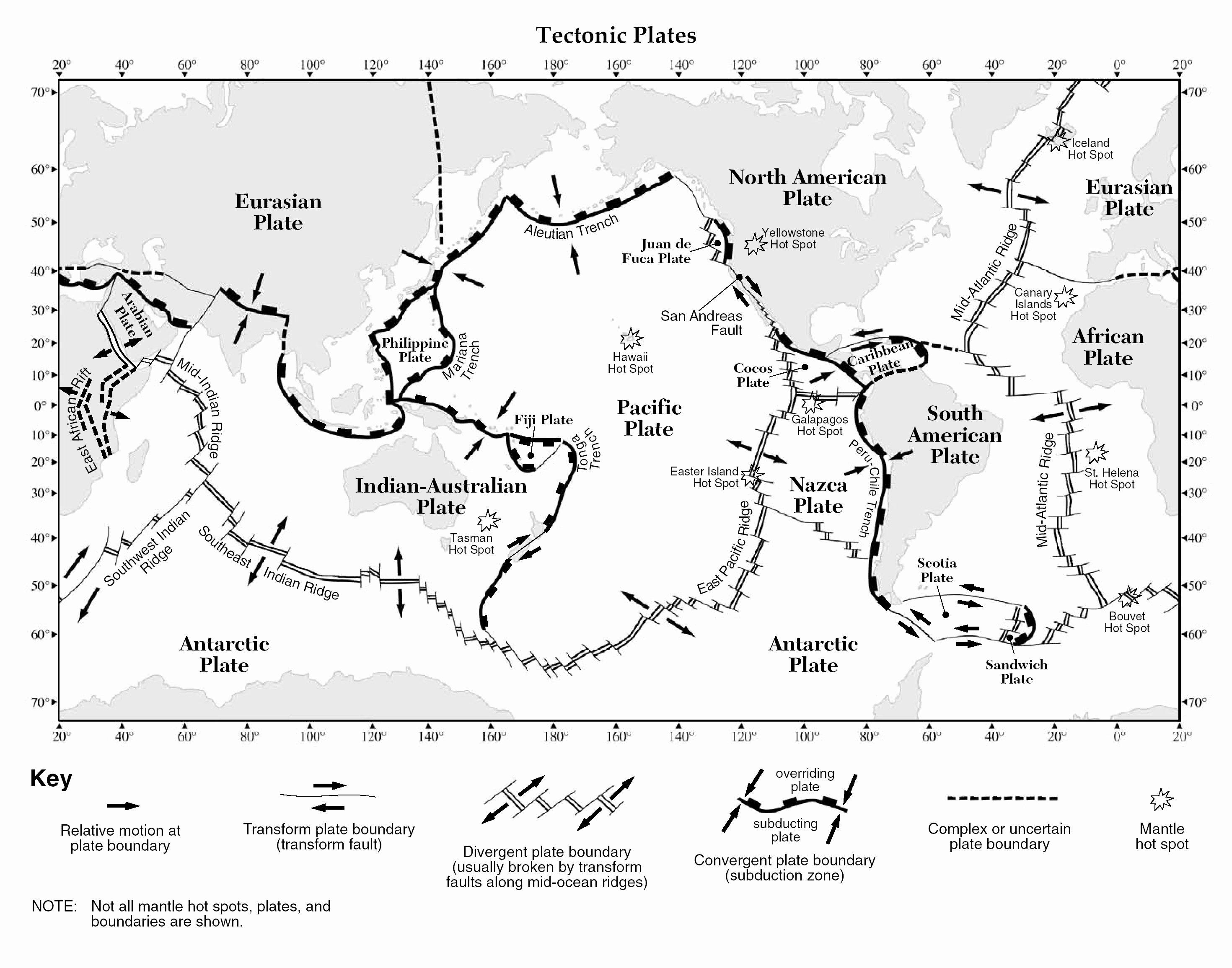 50 Plate Tectonics Worksheet Answers