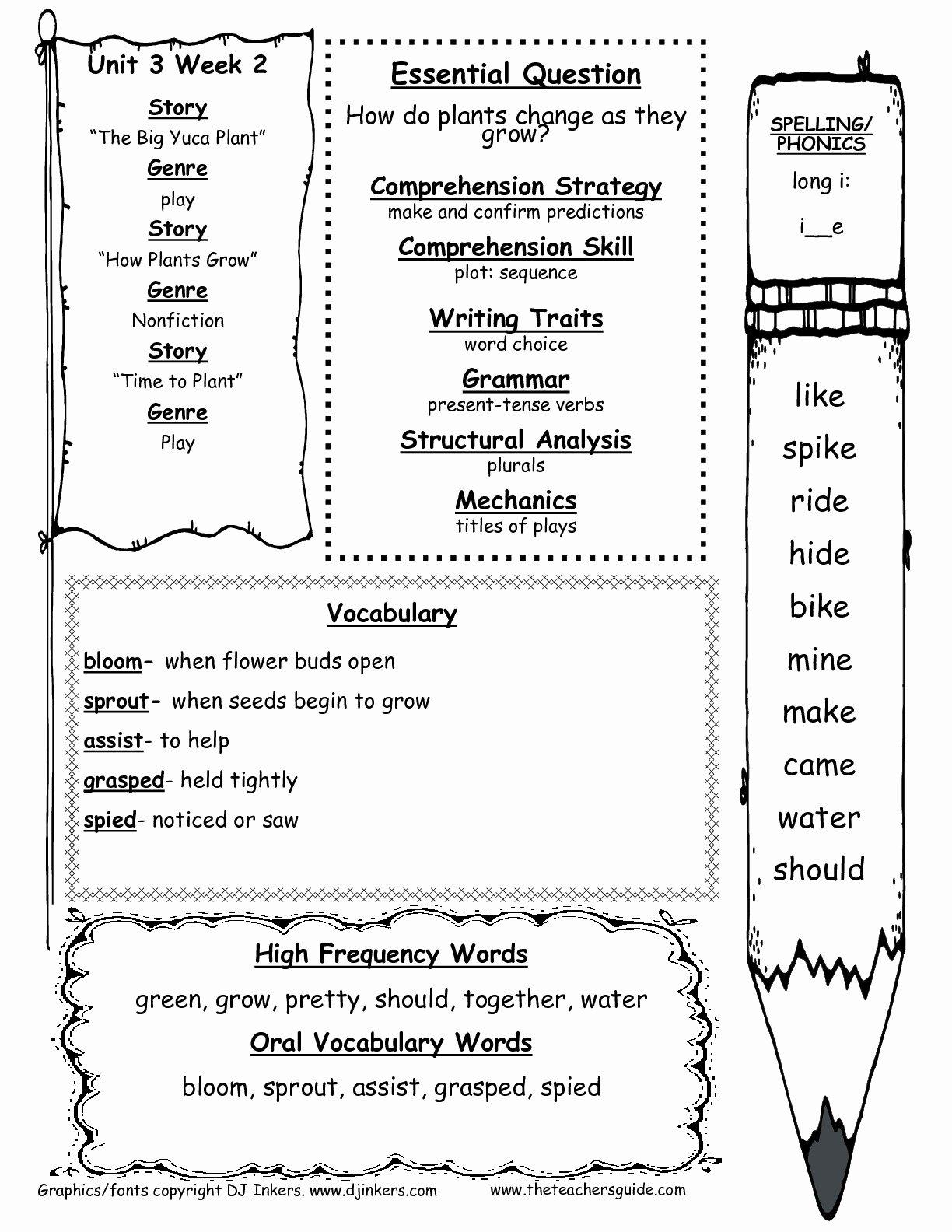 50 Science Worksheet For 1st Grade