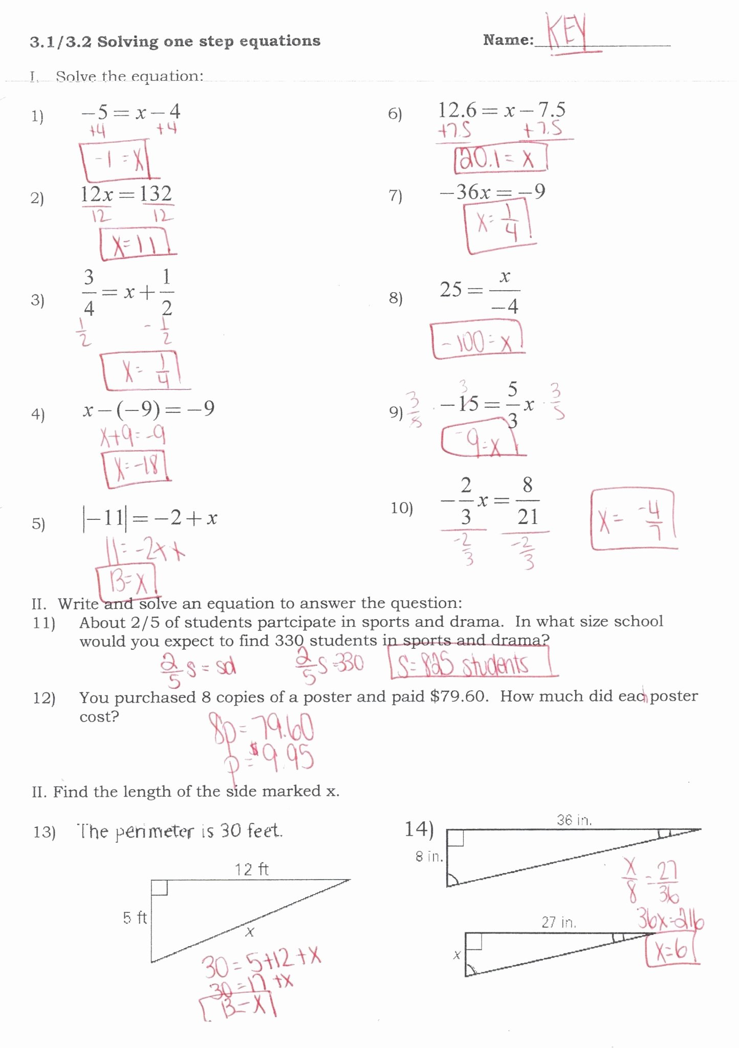 50 Solving System By Elimination Worksheet