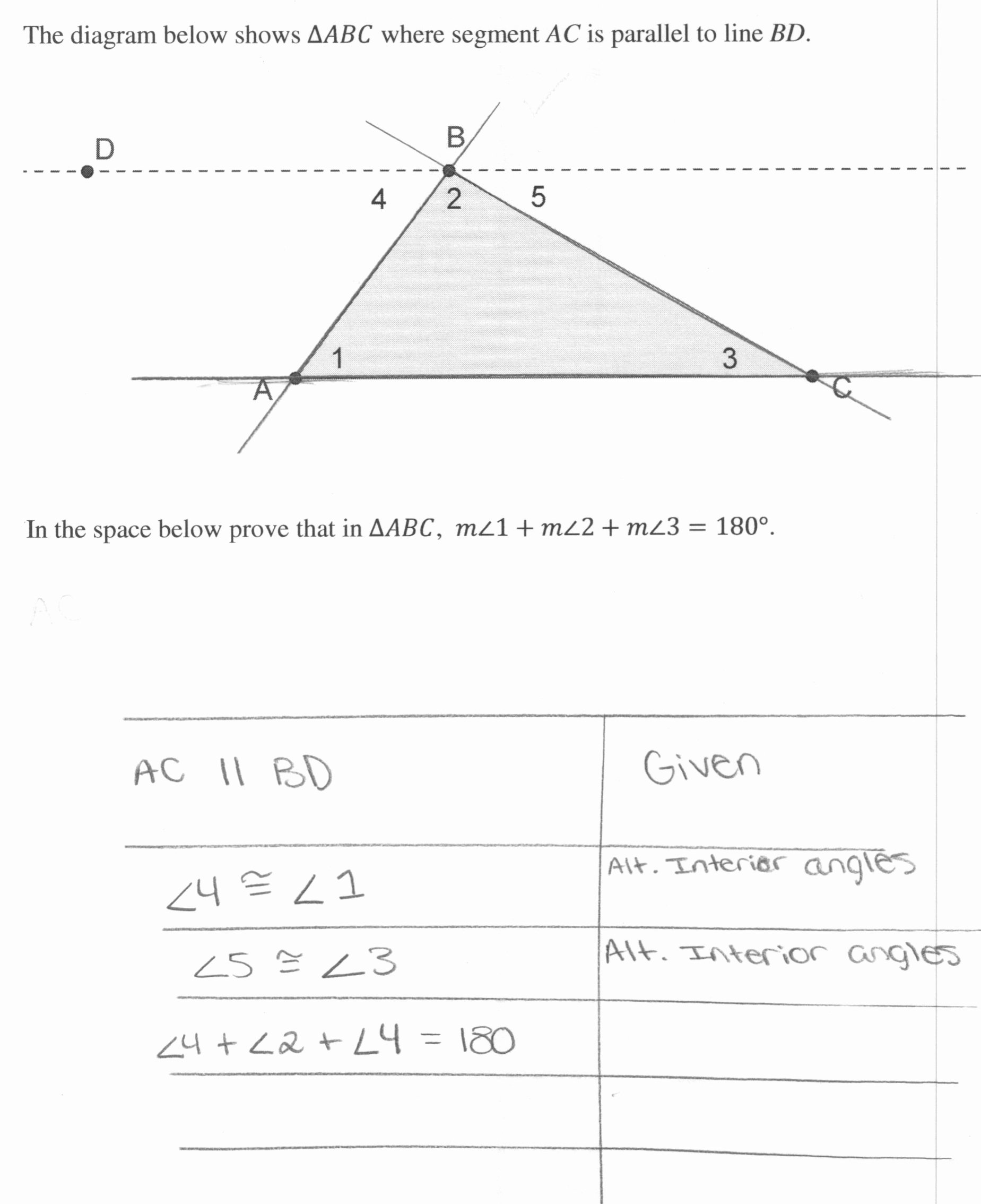 50 Triangle Angle Sum Worksheet