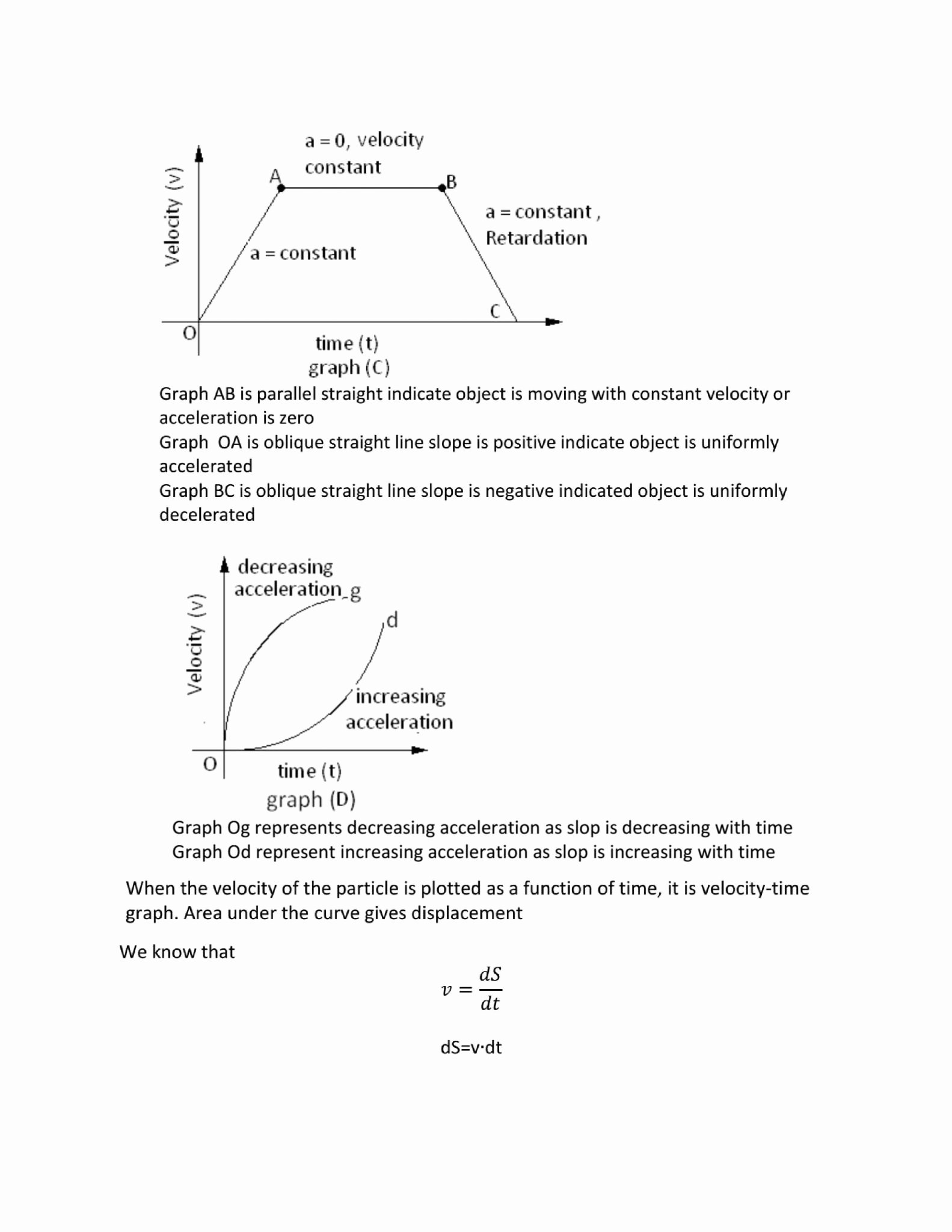 50 Velocity Time Graph Worksheet Answers