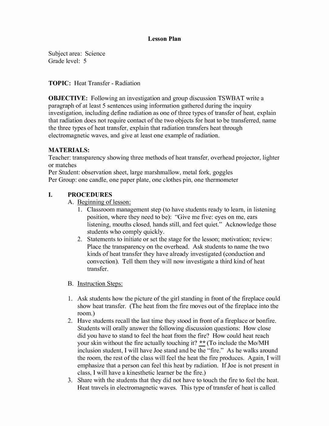 50 Worksheet Methods Of Heat Transfer
