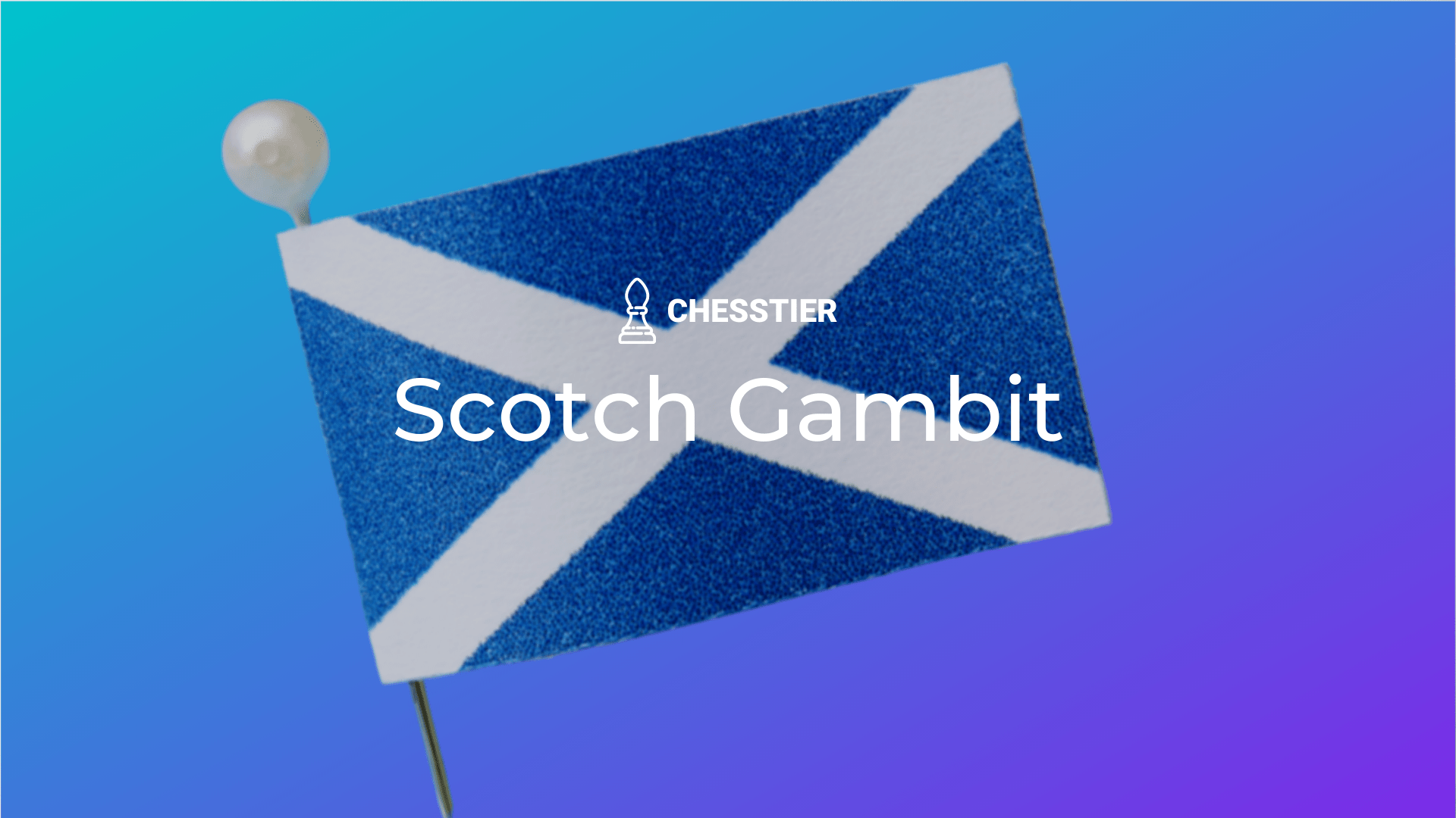 Scotch Gambit Chess Cover