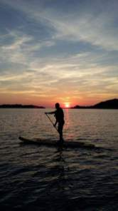 ANGLESEY sup stadn up paddle lessons trips