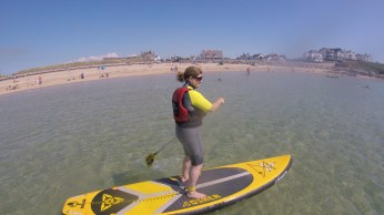 SUP anglesey Trearddur Bay lesson trip