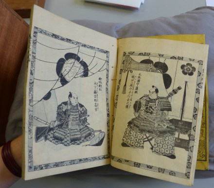 Loose pages and poor opening characteristics before conservation.