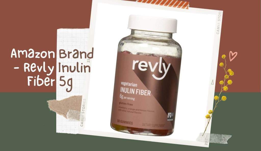 Amazon Brand - Reply Inulin Fiber 5g ( Product value $13.99 )