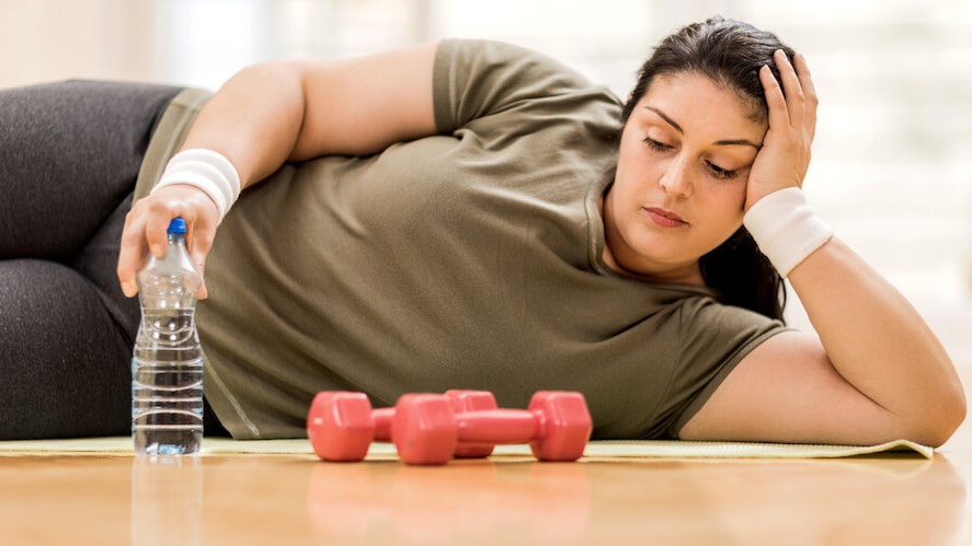 Lack of exercise and obesity