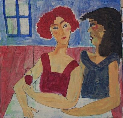 Gossip-Girls-original-painting