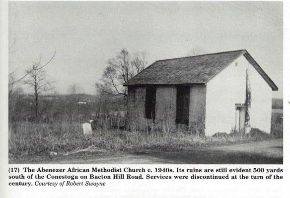The only photo I have ever seen from a book by Chester County Historian Catherine Quillman (History of the Conestoga Turkpike)