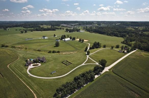 Crebilly Farm aerial shot courtesy of Crebilly Farm