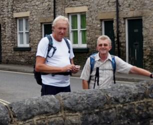 Robert and John at Bradwell