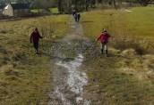 Avoiding icy ground