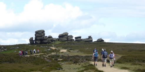 Approaching the Wheel Stones