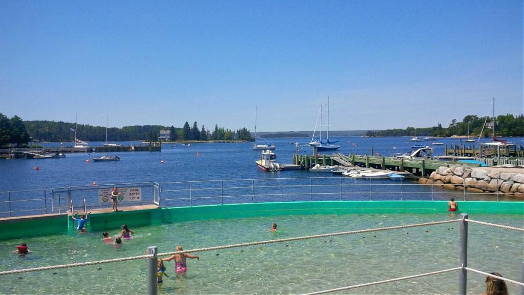 Lido Pool in Chester Nova Scotia