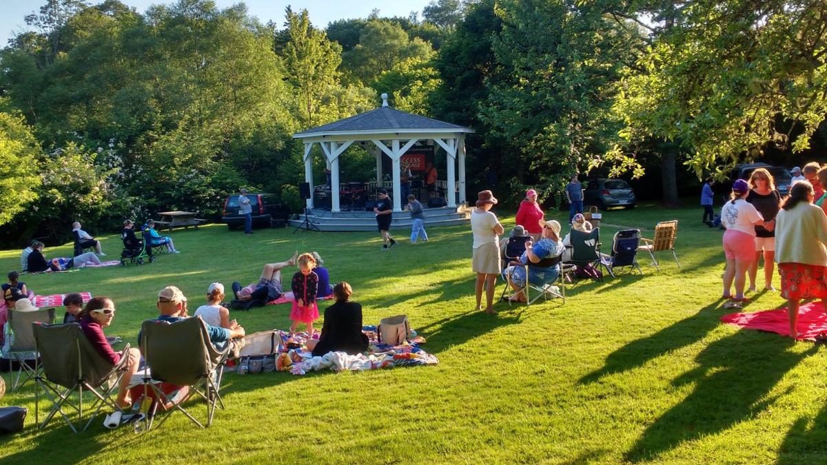 PICNIC IN THE PARK concert series in Chester, Nova Scotia
