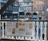The New information panel has been given pride of place overlooking The Cross at Eastgate Row North ©Talking West Cheshire