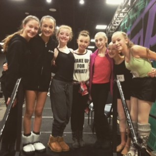 CVDA Dancers with Sophia Lucia!