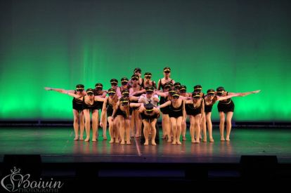 Performing Turbulence, choreographed by Pam Devenney, at Dance Excellence 20143