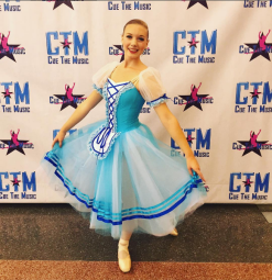 Abigail Cole, High Gold and 2nd Place out of Senior Soloists, Coppelia Variation