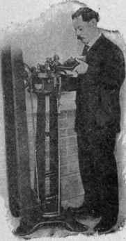 The Hadaway Stitch Separating Machine