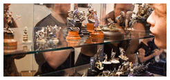Reports from miniature painting events