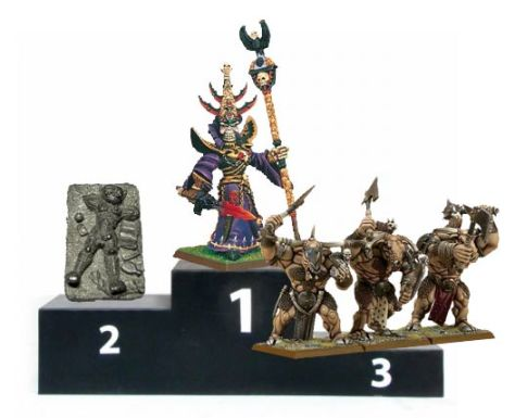 Photo: Worst Miniatures? Winners and losers of round one