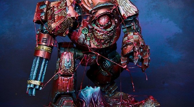 Blood Angels Contemptor Dreadnought