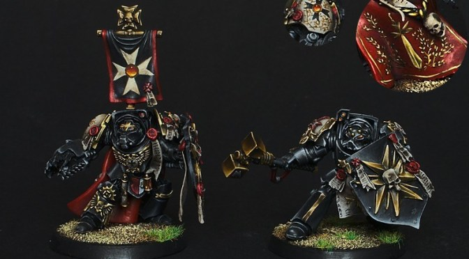 How to paint NMM gold – Recipes